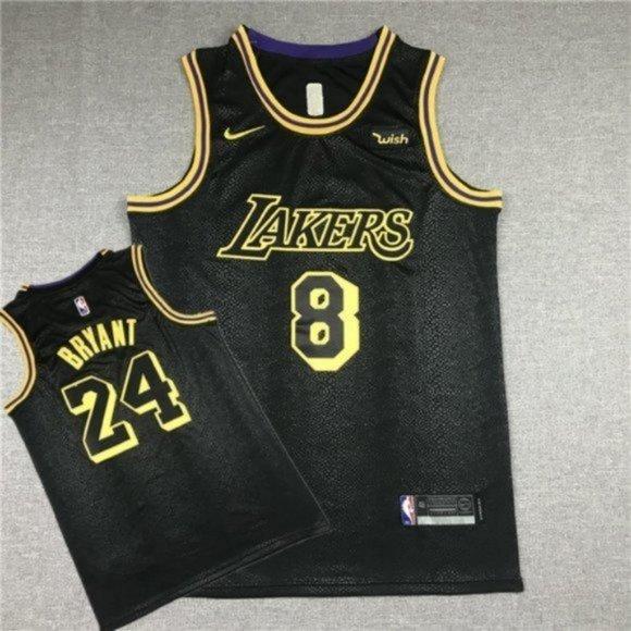 NBA Shirts | Youth Lakers 24 Kobe Black Mamba Jersey 8 24 | Poshmark